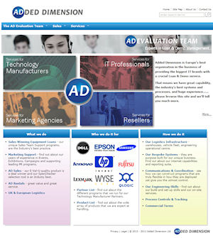 Added Dimension corporate website