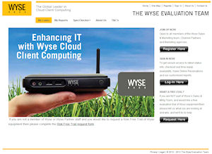 Wyse UK Evaluation Team Site